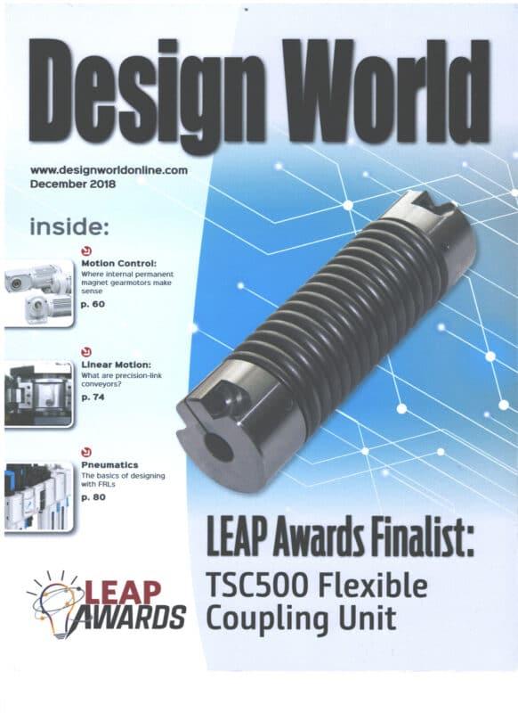Design World Leap Award Finalist 2019